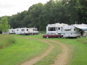 Big Boy Camping Area w electric & sewage hookups